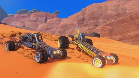 Trailmakers - Gratis-Wochenende und Early-Access-Start des Vehikelbau-Sandbox-Rennspiels