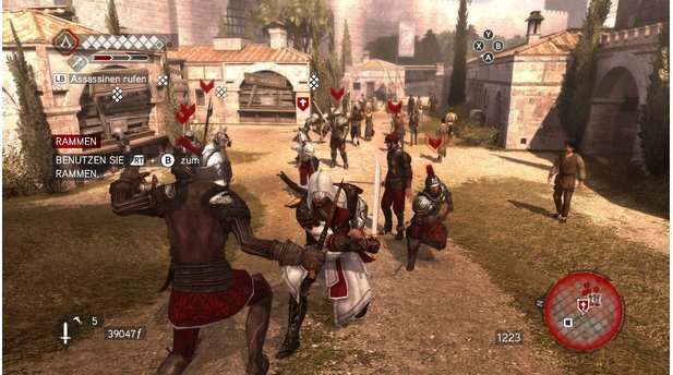 <b>Assassin's Creed: Brotherhood</b><br/>Brotherhood ist nicht Assassin's Creed 3, sondern eher Assassin's Creed 2,5. Denn der Held ...