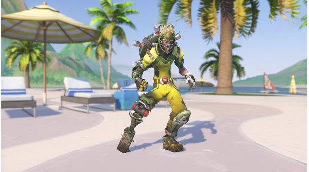 "<b>Overwatch Summer Games 2017</b><br>Junkrat ""Cricket"""