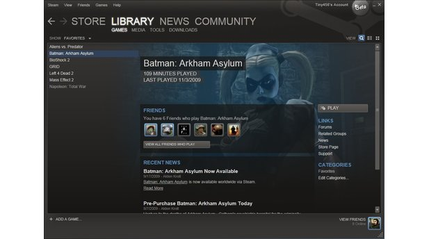 Steam UI Beta 2010