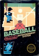 Cover zu Baseball - NES