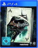 Cover zu Batman: Arkham Asylum - PlayStation 4