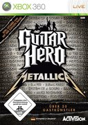 Cover zu Guitar Hero: Metallica - Xbox 360