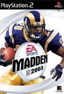 Cover zu Madden NFL 2003 - PlayStation 2