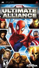 Cover zu Marvel: Ultimate Alliance - PSP