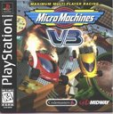 Cover zu Micro Machines V3 - PlayStation