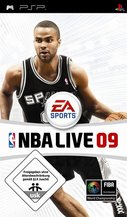 Cover zu NBA Live 09 - PSP