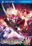 Cover zu Samurai Warriors 4-II - PS Vita
