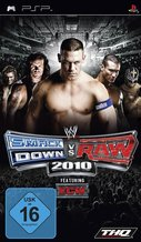 Cover zu WWE Smackdown vs. RAW 2010 - PSP