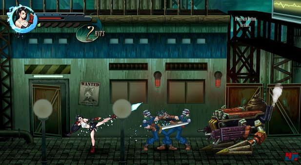 Final Fantasy 7 mal anders: Als Beat'em up 2D-Sidescroller.