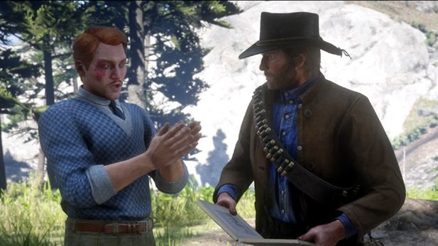 Francis Sinclair in Red Dead Redemption 2: Reist er durch die Zeit?
