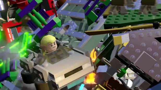 LEGO Dimensions Trailer - Aus eins mach drei: Das »Build and Rebuild«-Fetaure im Video