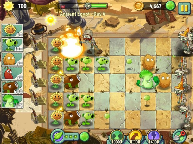 Plants vs. Zombies 2: It's About Time ist ab sofort auch für Android-Geräte erhältlich.