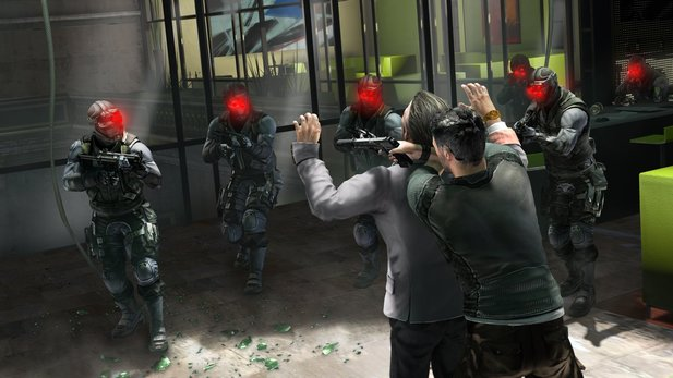 Splinter Cell: Conviction: In dieser Situation hat Sam keine Chance mehr.