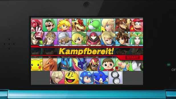 Super Smash Bros. - Test-Video zur 3DS-Version
