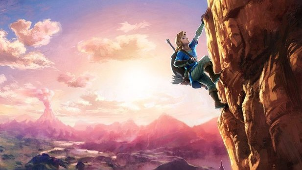 The Legend of Zelda: Breath of the Wild bietet eine komplett frei erkundbare Spielwelt.