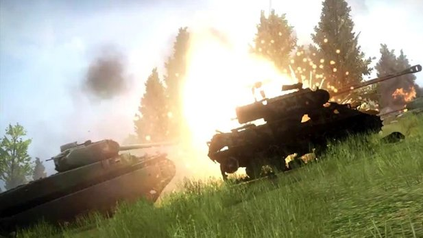 Release-Trailer von World of Tanks: Xbox 360 Ed.