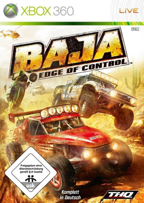 Cover zu Baja: Edge of Control