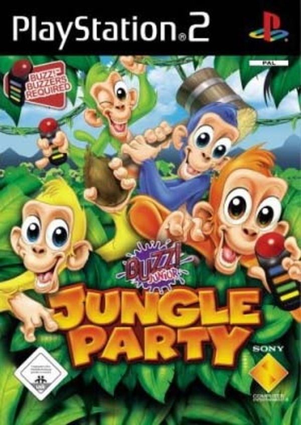 Cover zu Buzz! Junior: Jungle Party