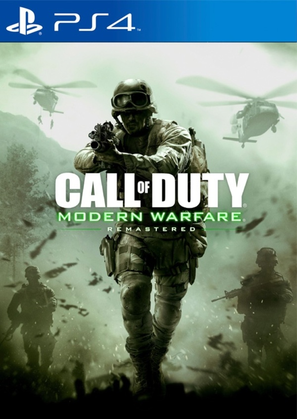 Cover zu Call of Duty: Modern Warfare Remastered