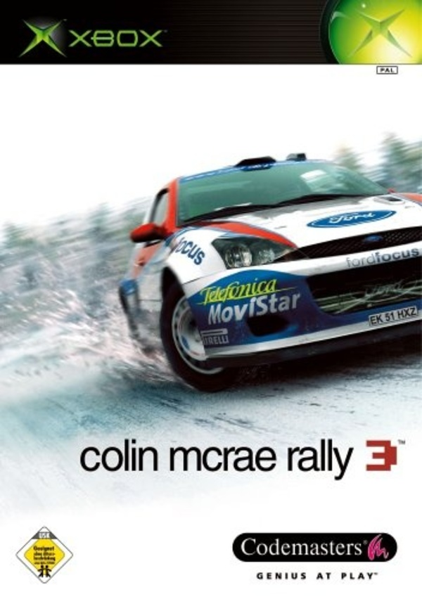 Cover zu Colin McRae Rally 3