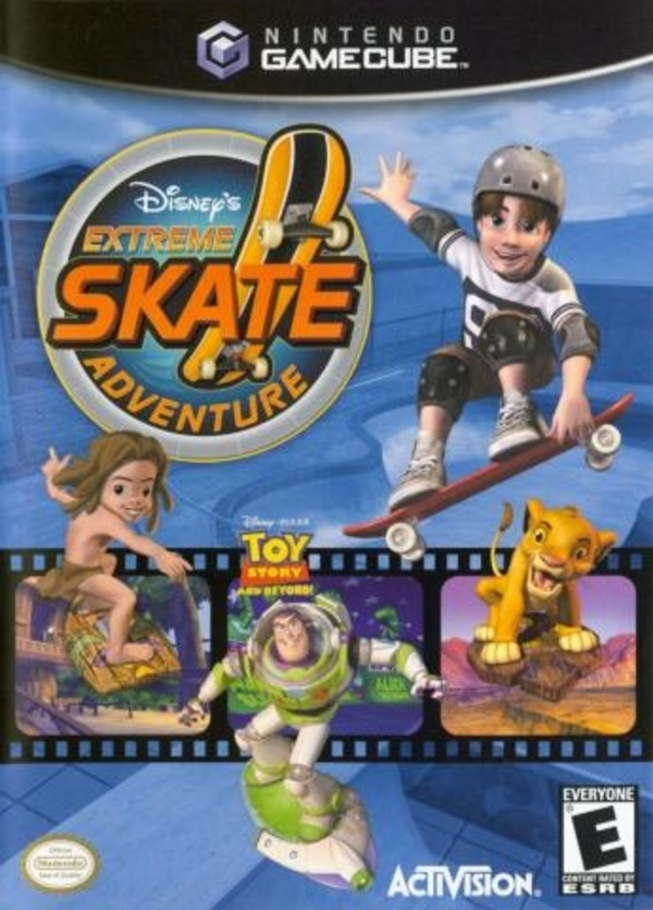Cover zu Disney's Extreme Skate Adventure
