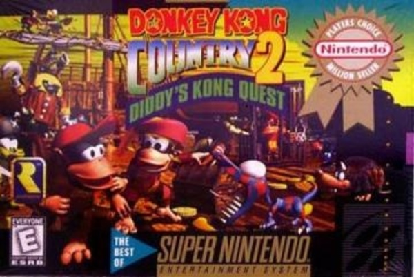 Cover zu Donkey Kong Country 2: Diddy's Kong Quest