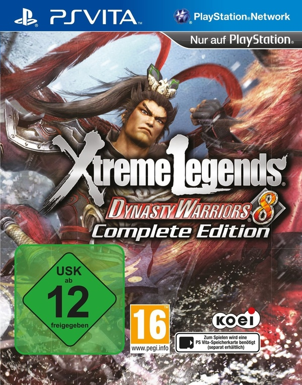 Cover zu Dynasty Warriors 8 - Complete Edition