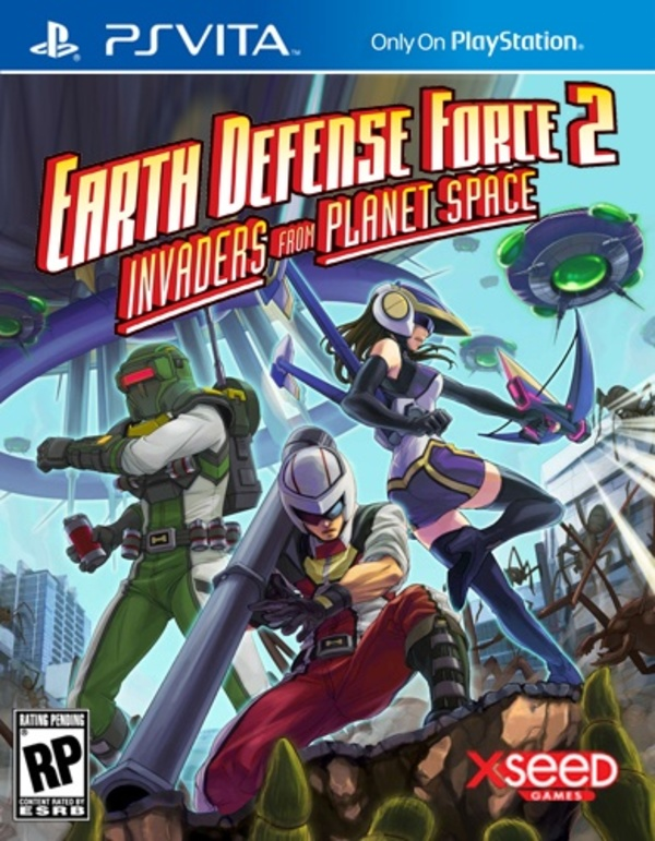 Cover zu Earth Defense Force 2: Invaders From Planet Space