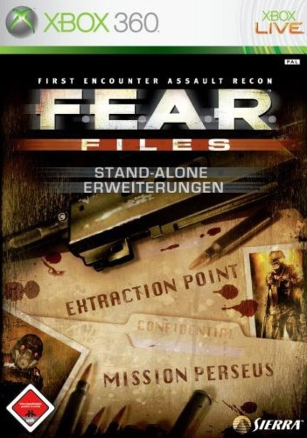 Cover zu F.E.A.R. Files