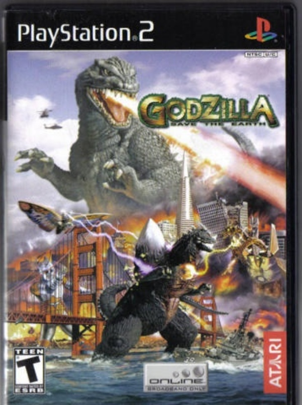 Cover zu Godzilla: Save the Earth