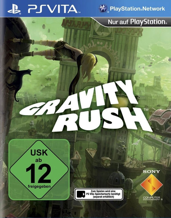 Cover zu Gravity Rush