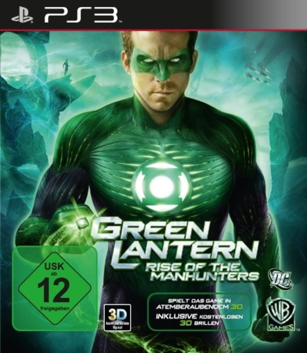 Cover zu Green Lantern: Rise of the Manhunters