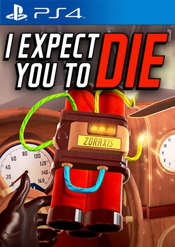 Cover zu I Expect You To Die