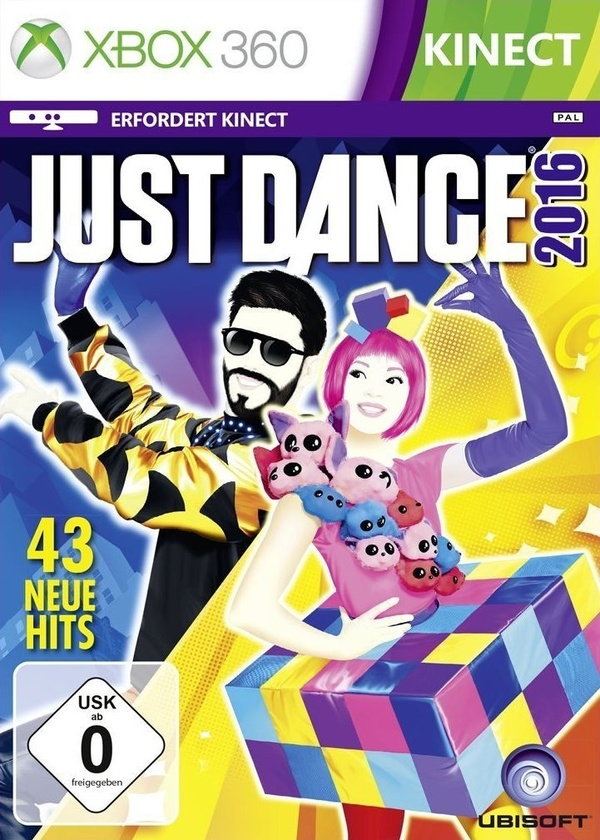 Cover zu Just Dance 2016