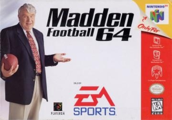 Cover zu Madden Football 64