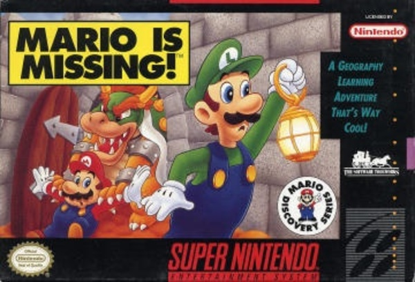 Cover zu Mario is Missing!