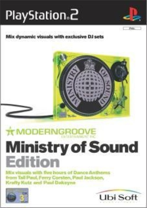 Cover zu Moderngroove: Ministry of Sound Edition