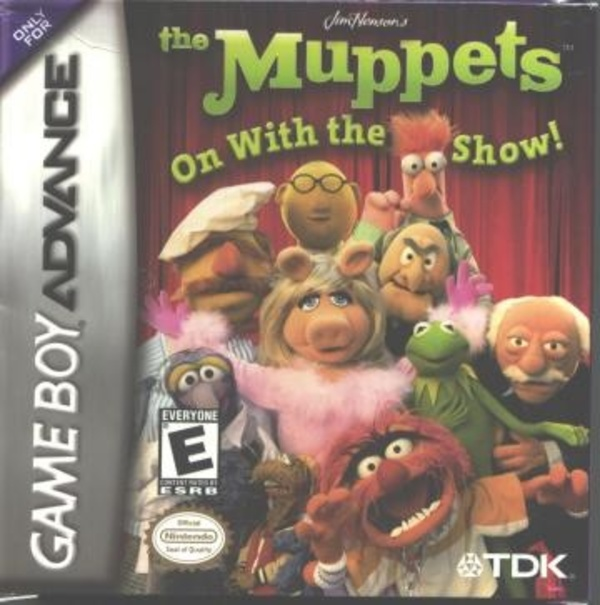 Cover zu Muppets: On with the Show, The