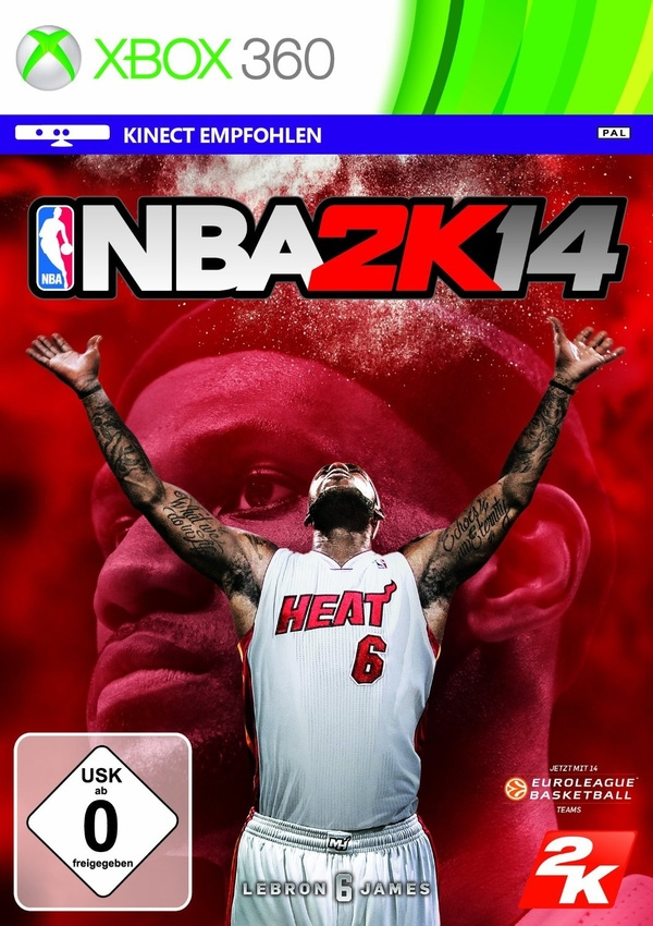 Cover zu NBA 2K14