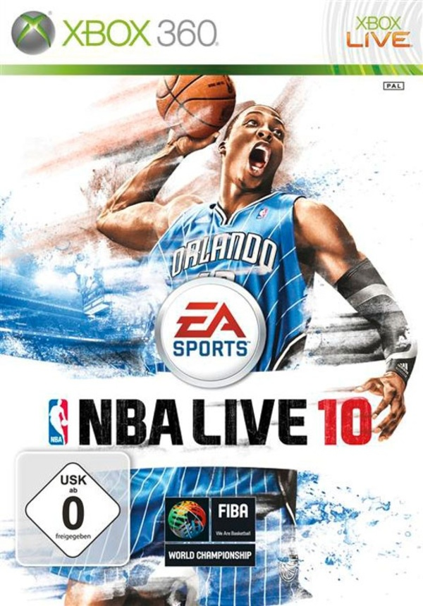 Cover zu NBA Live 10
