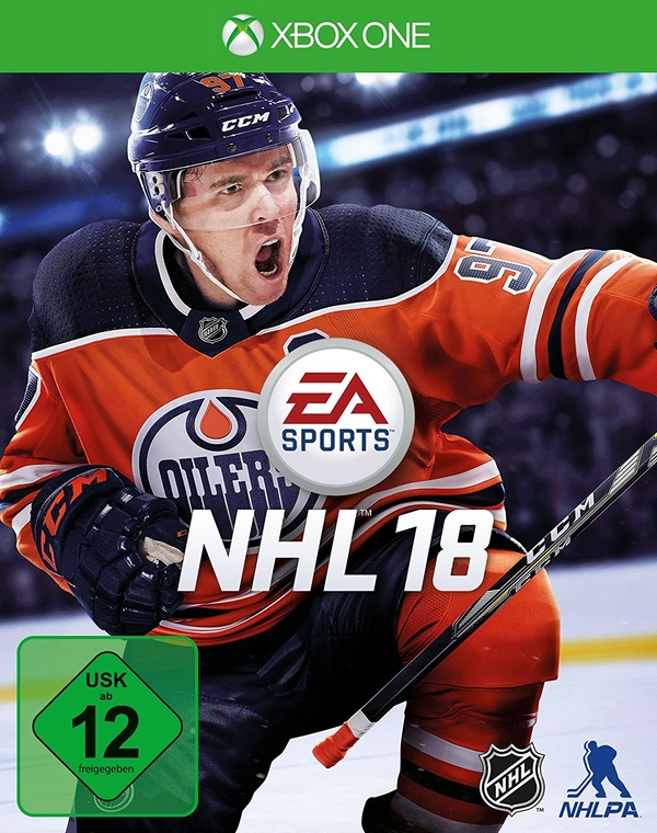Cover zu NHL 18