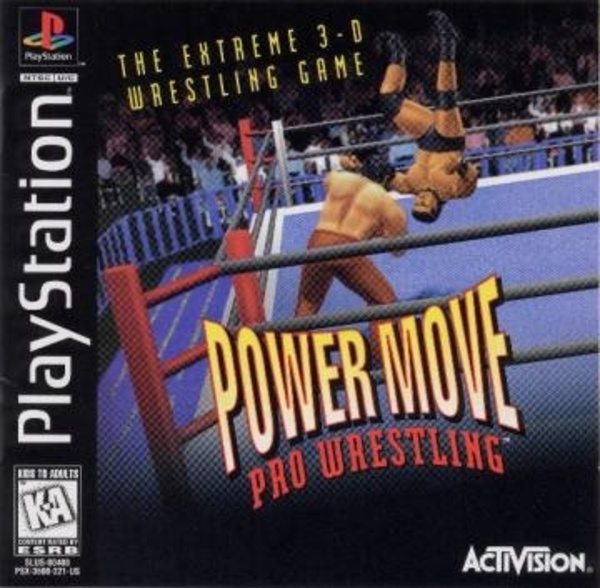 Cover zu Power Move Pro Wrestling