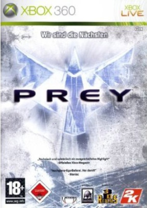 Cover zu Prey (2006)