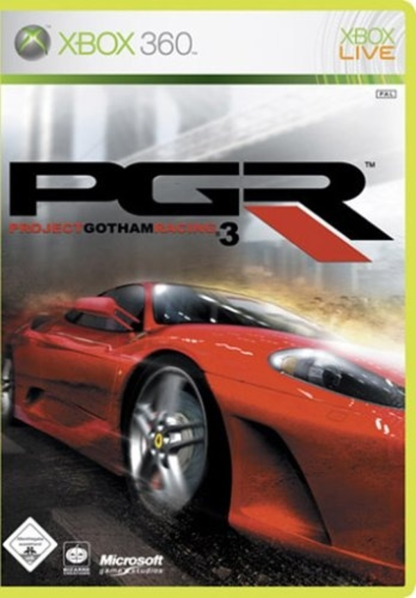 Cover zu Project Gotham Racing 3
