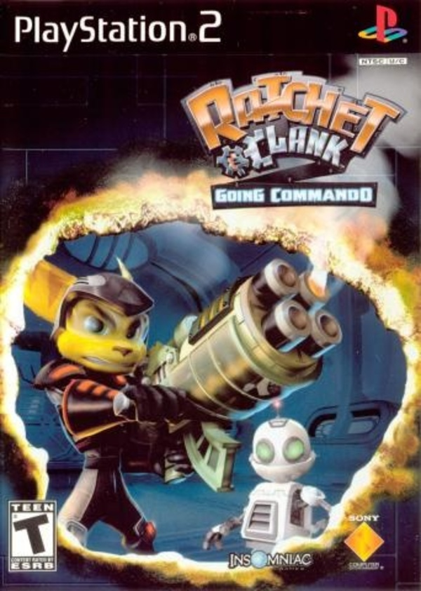 Cover zu Ratchet & Clank 2