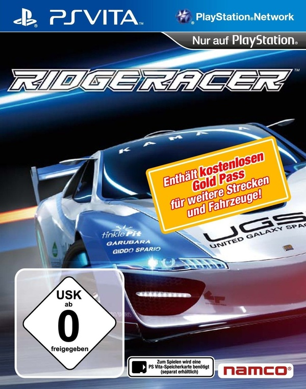 Cover zu Ridge Racer Vita