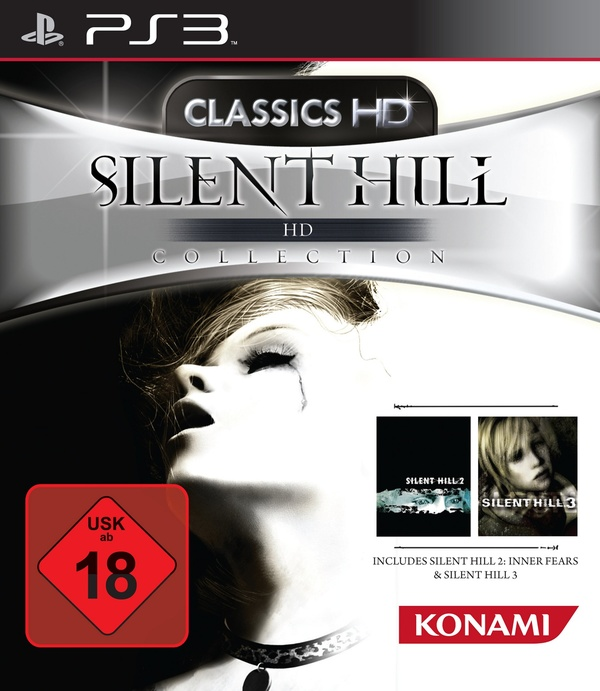 Cover zu Silent Hill HD Collection