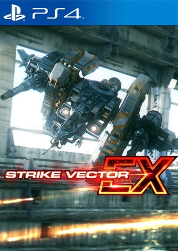 Cover zu Strike Vector EX