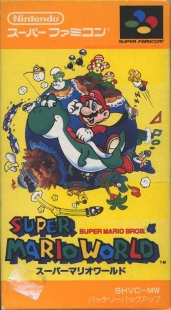 Cover zu Super Mario World